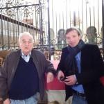 Jean LHOPITAULT, porteur du projet pour l'Association Braytoise pour l'Orgue Rénové et Emmanuel MARCADET, Maire.