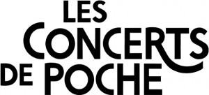 LOGO Les Concerts de Poche noir