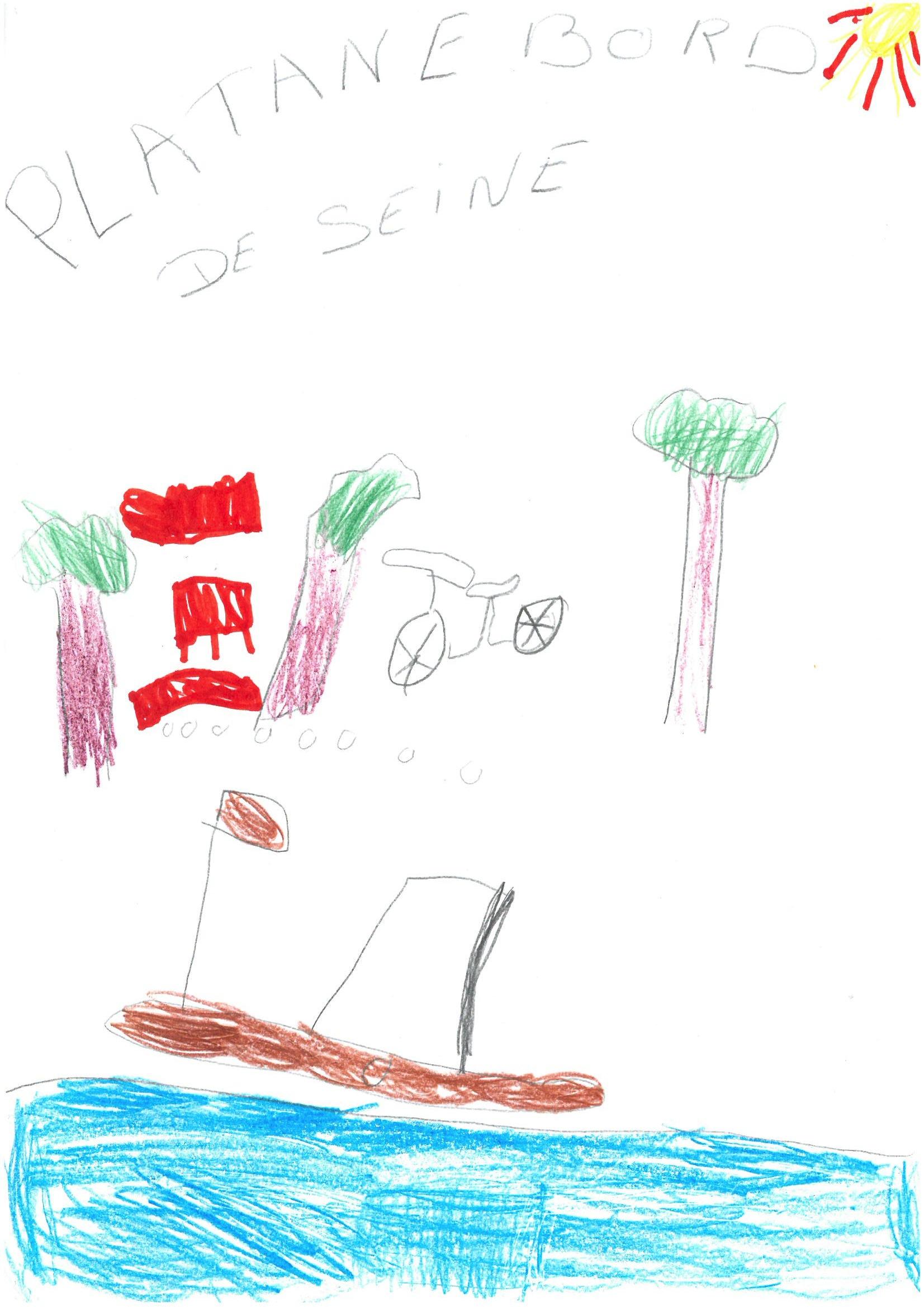 Les dessins du concours de dessins du festival bd ville for Bray sur seine piscine