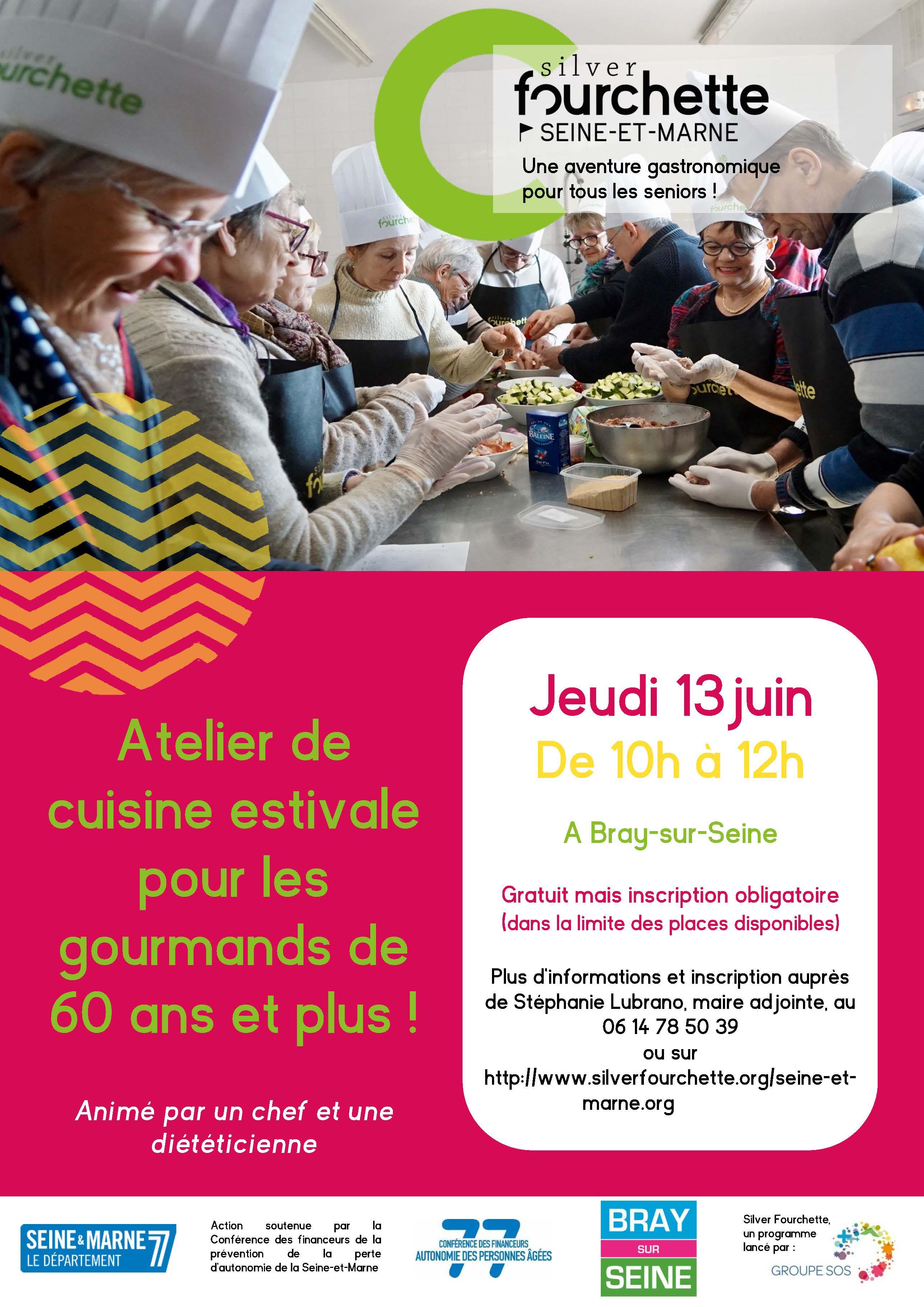 Atelier De Cuisine Estivale Pour Les Gourmands De 60 Ans Et Plus